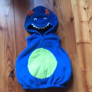 Toddler Monster Vest